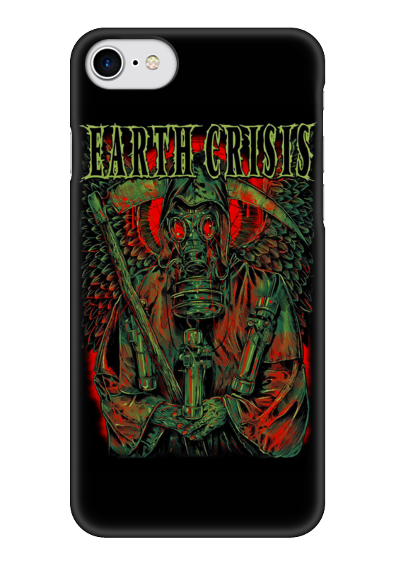 Чехол для iPhone 7 глянцевый Printio Earth crisis bprd hell on earth v 7