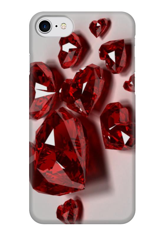 Чехол для iPhone 7 глянцевый Printio Кристальное сердце чехол для iphone 7 глянцевый printio альтрон мстители