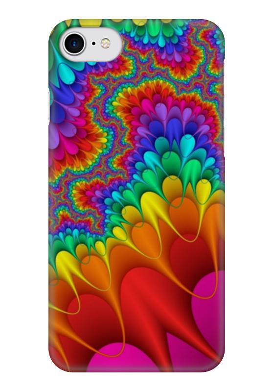 Чехол для iPhone 7 глянцевый Printio Все краски лета все дни все ночи