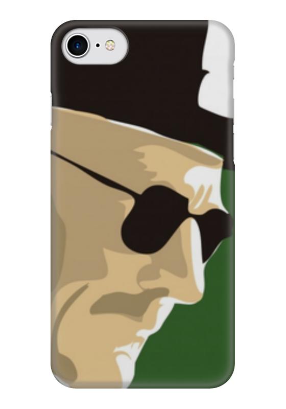 Чехол для iPhone 7 глянцевый Printio Хайзенберг (во все тяжкие) чехол для iphone 6 глянцевый printio мистер хайзенберг