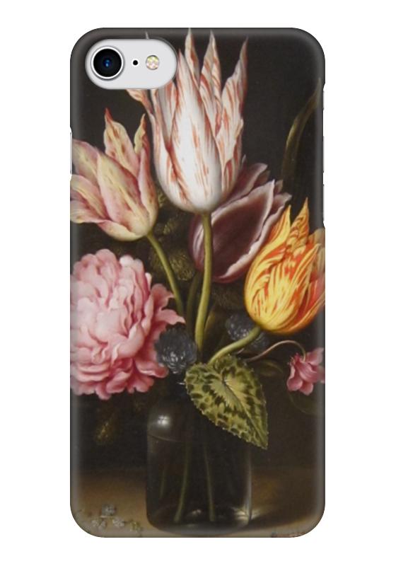 Чехол для iPhone 7 глянцевый Printio Букет из тюльпанов, роз, клевера, и цикламен амброзиус босхарт