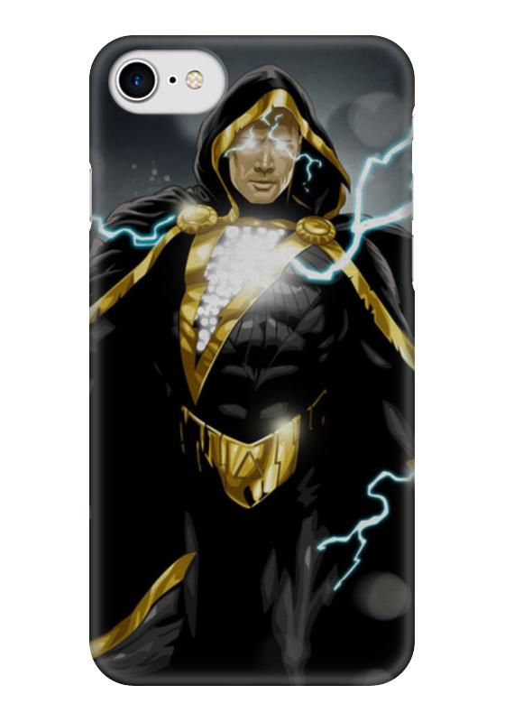 Чехол для iPhone 7 глянцевый Printio Чёрный адам адам міцкевич петербург