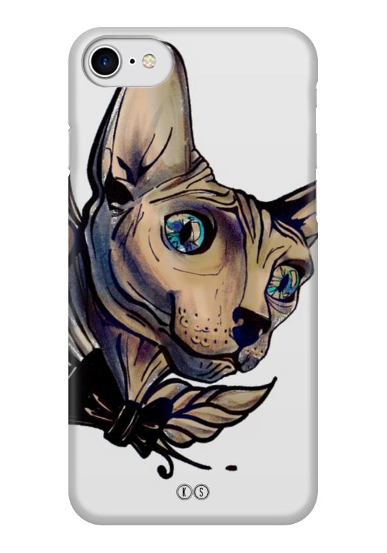Чехол для iPhone 7 глянцевый Printio Mr. cox чехол для iphone 7 глянцевый printio динозаврики