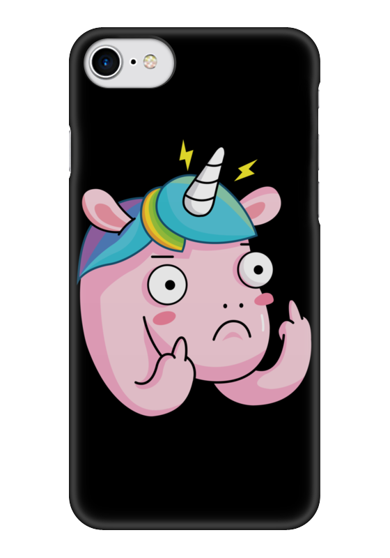 Чехол для iPhone 7 глянцевый Printio Unicorn / единорог чехол для iphone 7 глянцевый printio динозаврики