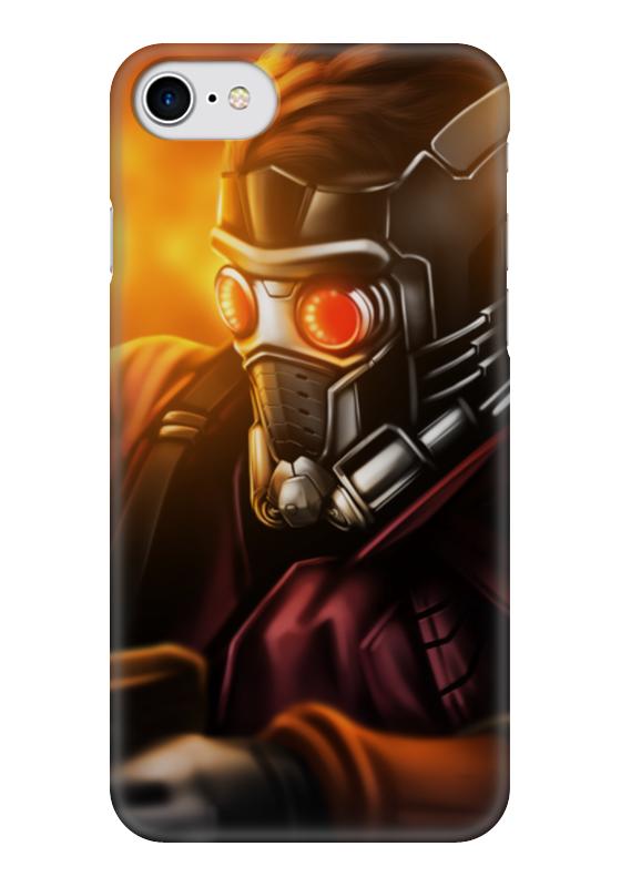Чехол для iPhone 7 глянцевый Printio Звездный лорд чехол для iphone 7 глянцевый printio альтрон мстители