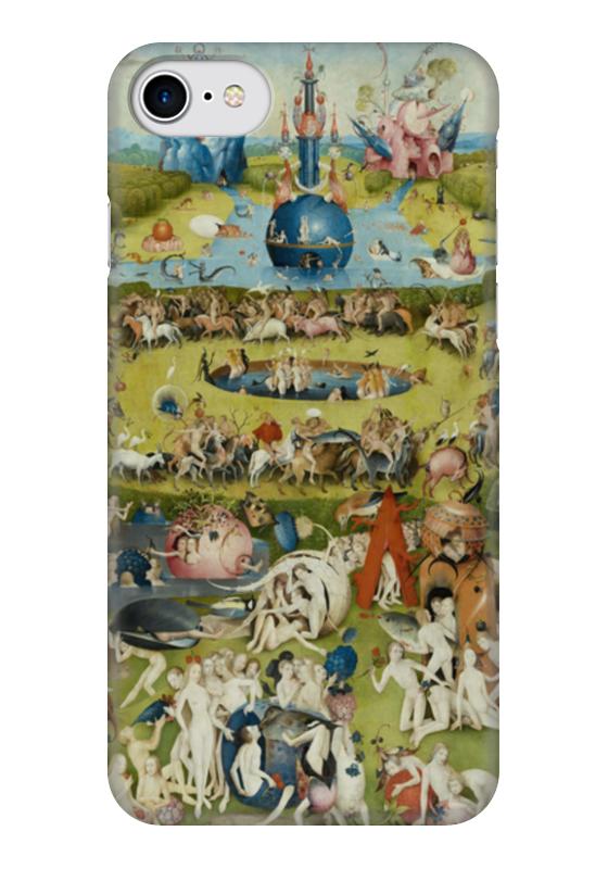 Чехол для iPhone 7 глянцевый Printio Сад земных наслаждений юбка в складку printio сад земных наслаждений
