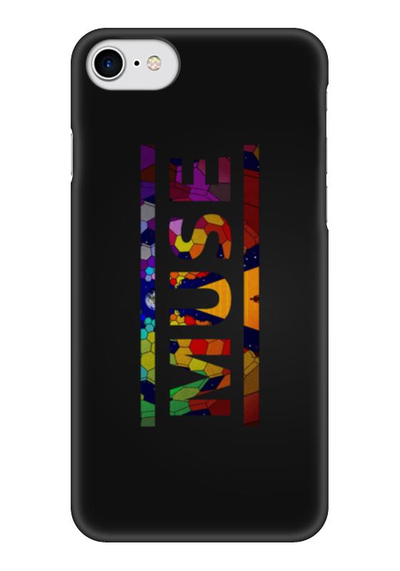 Чехол для iPhone 7 глянцевый Printio Muse (rock) блокнот printio muse