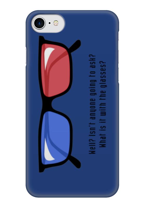 Чехол для iPhone 7 глянцевый Printio Doctor who 3d чехол для iphone 7 глянцевый printio time lord doctor who