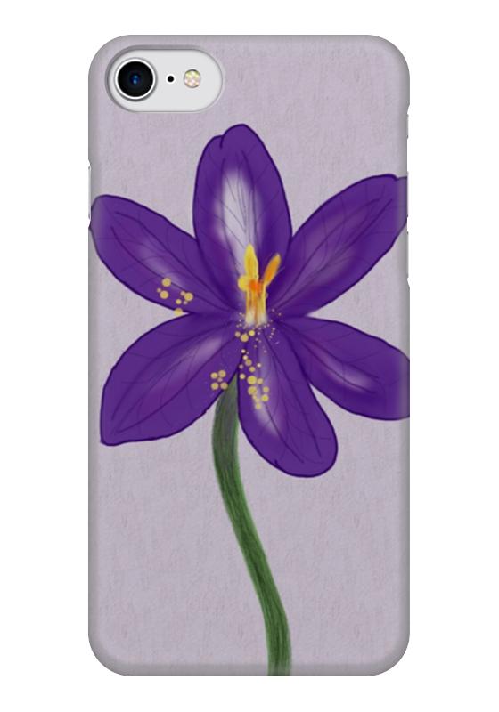 Чехол для iPhone 7 глянцевый Printio Сказочный цветок александра лисина сказочный переполох