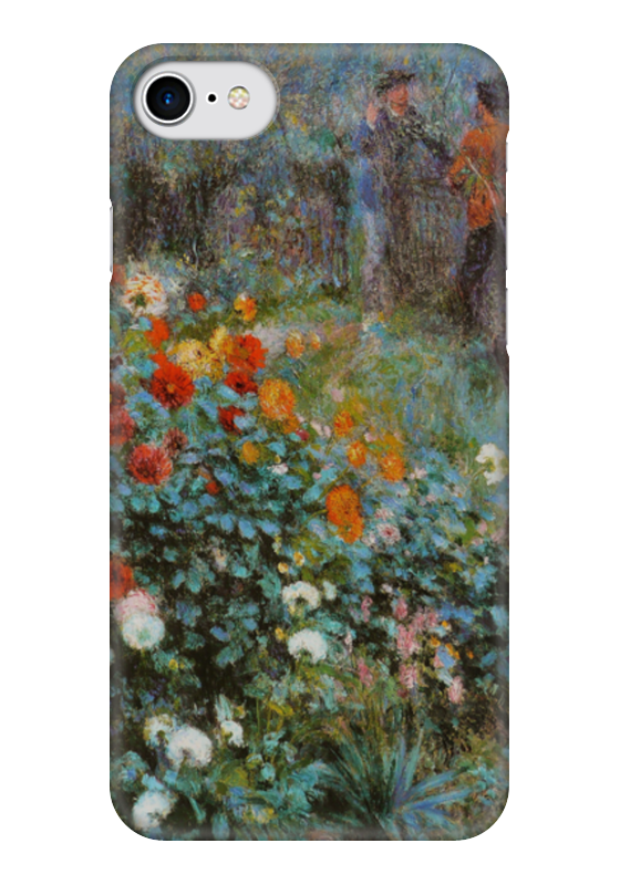 Чехол для iPhone 7 глянцевый Printio Сад на улице корто (сад на монмартре) чехол для iphone 6 глянцевый printio летний сад