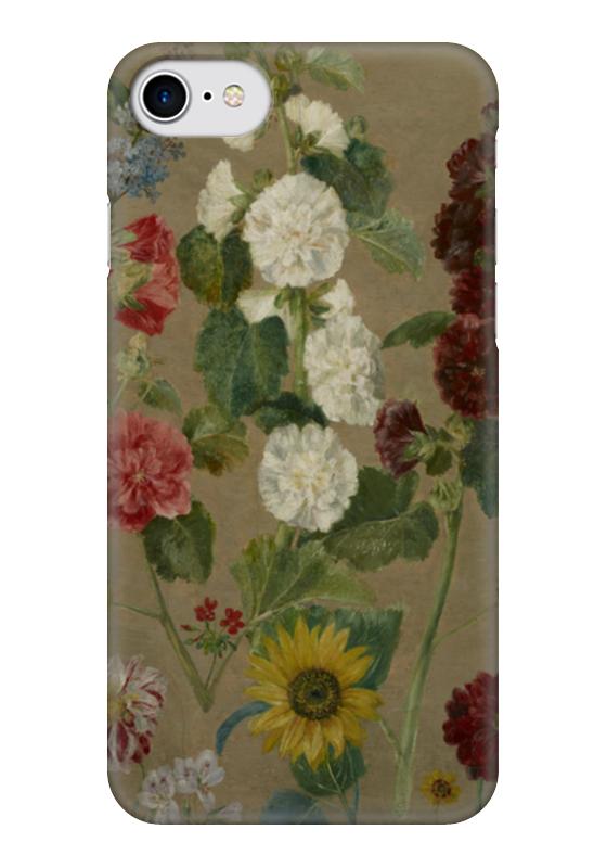 Чехол для iPhone 7 глянцевый Printio Цветы (эжен делакруа)