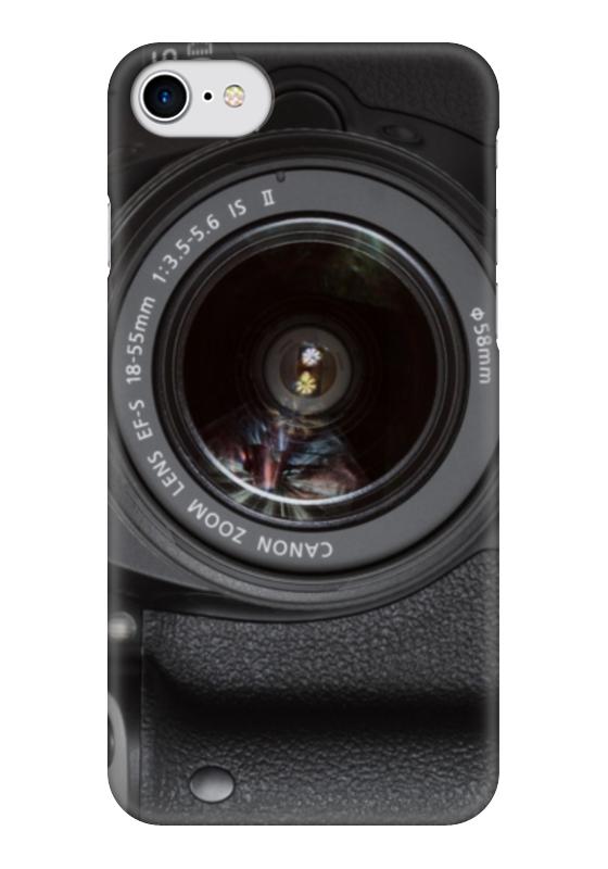 Чехол для iPhone 7 глянцевый Printio Фотоаппарат чехол для iphone 7 глянцевый printio фотоаппарат