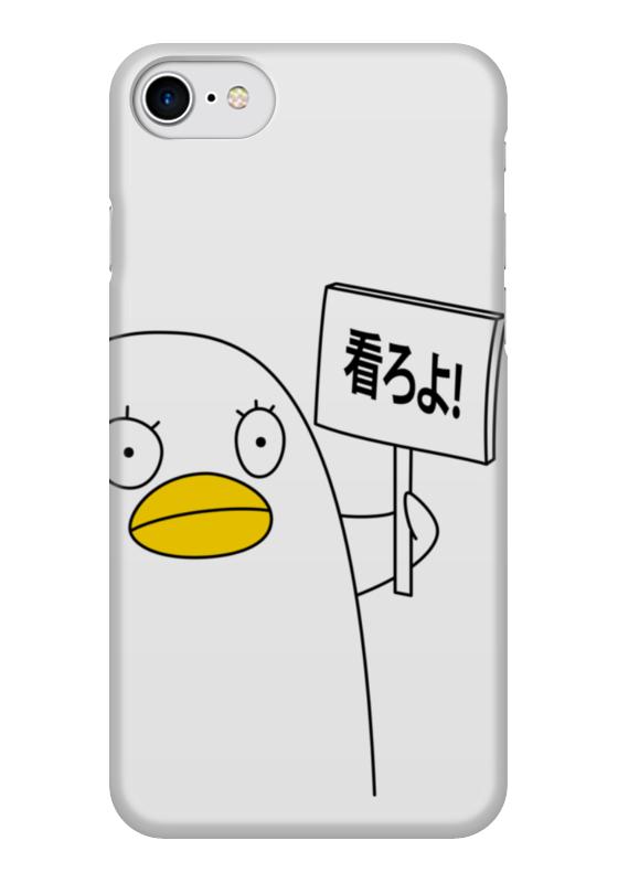 Чехол для iPhone 7 глянцевый Printio Гинтама. элизабет