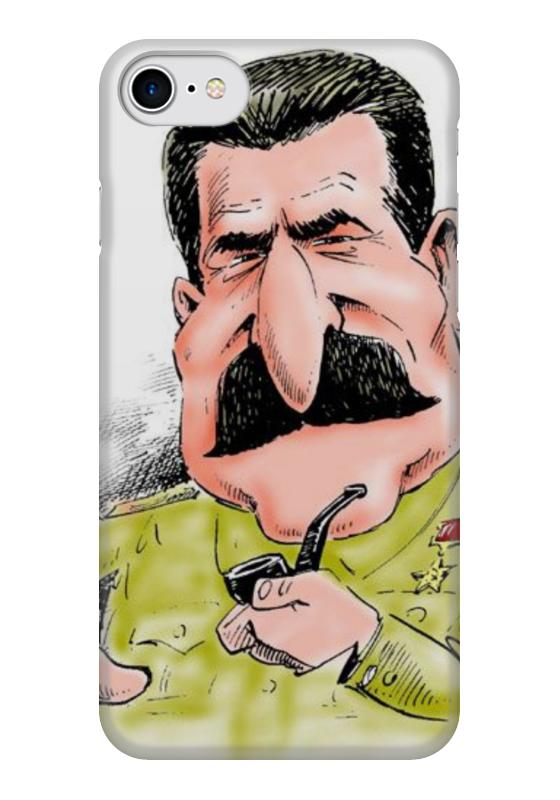 Чехол для iPhone 7 глянцевый Printio Сталин чехол для iphone 7 глянцевый printio horror art