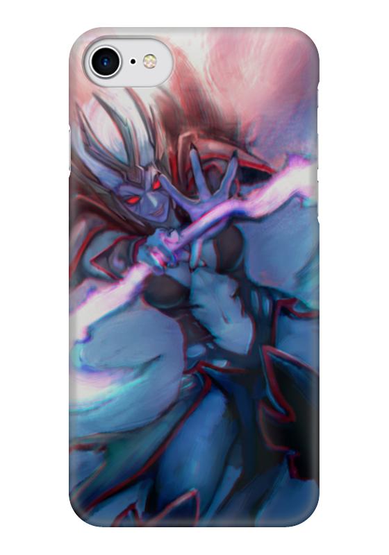 Чехол для iPhone 7 глянцевый Printio Vengeful spirit чехол для iphone 5 глянцевый с полной запечаткой printio vengeful spirit