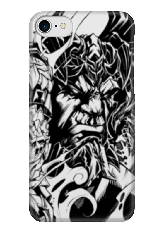Чехол для iPhone 7 глянцевый Printio Darksiders darksiders