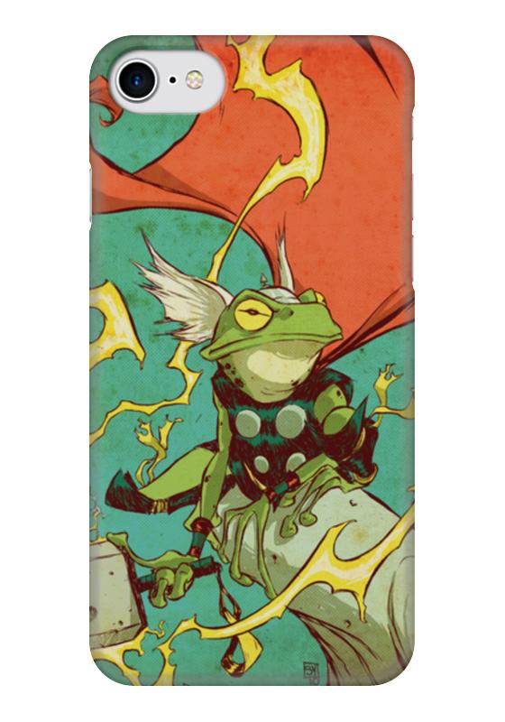 Чехол для iPhone 7 глянцевый Printio Comics art series: тор чехол для iphone 7 глянцевый printio horror art