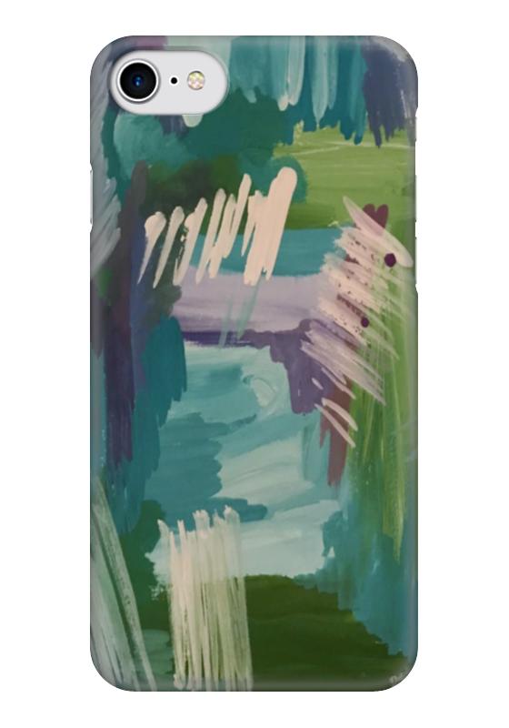 Чехол для iPhone 7 глянцевый Printio Живопись