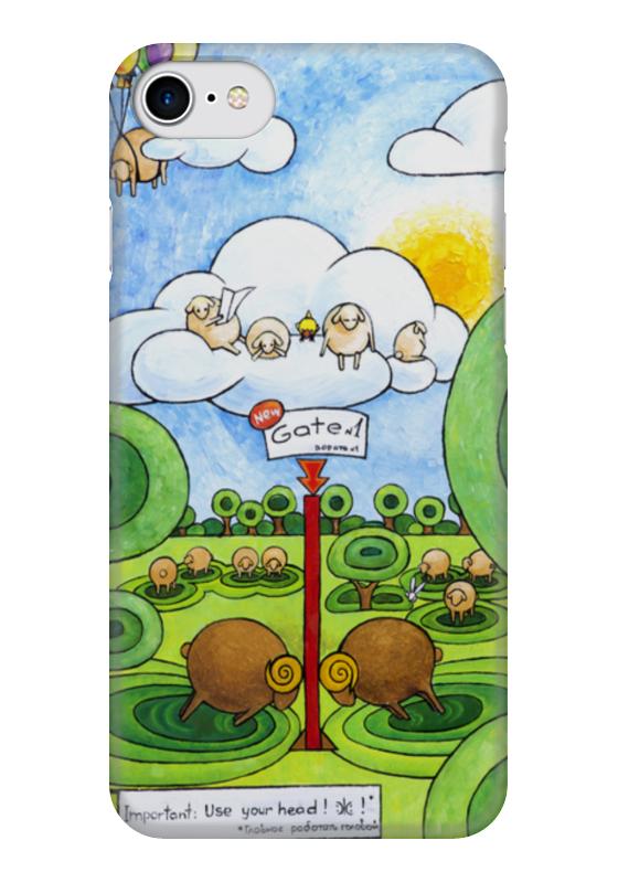 Чехол для iPhone 7 глянцевый Printio Lollypups #25 чехол для iphone 7 глянцевый printio horror art