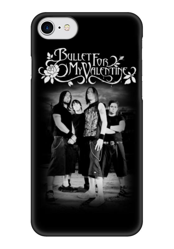 Чехол для iPhone 7 глянцевый Printio Bullet for my valentine чехол для iphone 5 глянцевый с полной запечаткой printio be my valentine