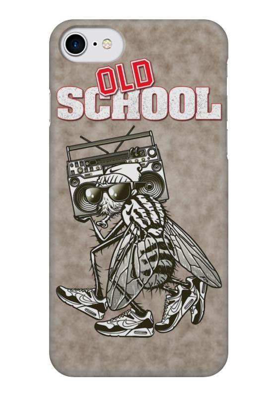Чехол для iPhone 7 глянцевый Printio Old school art чехол для iphone 7 глянцевый printio horror art