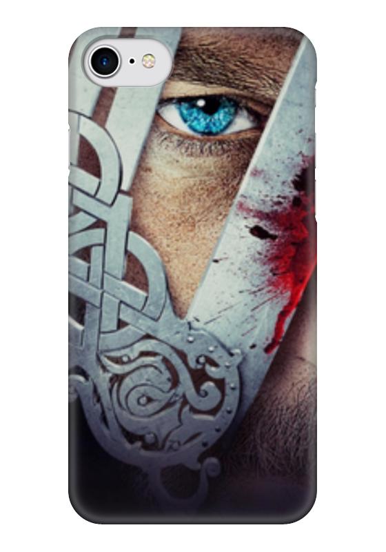 Чехол для iPhone 7 глянцевый Printio Викинги триумф времени и бесчувствия