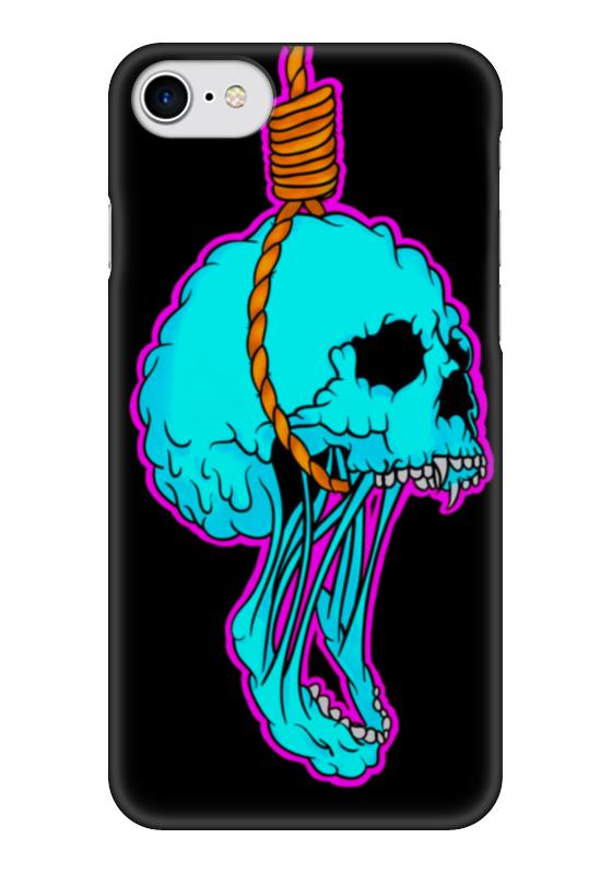 Чехол для iPhone 7 глянцевый Printio Noose skull чехол для iphone 7 глянцевый printio альтрон мстители