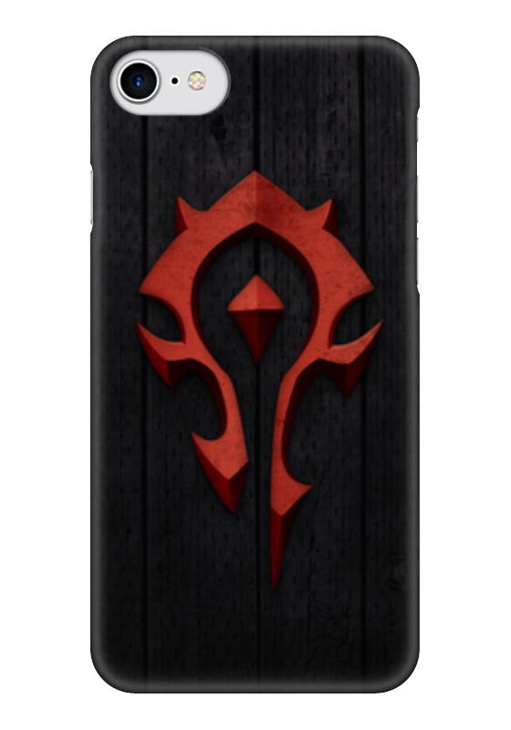 Чехол для iPhone 7 глянцевый Printio Warcraft. орда чехол для iphone 7 глянцевый printio динозаврики
