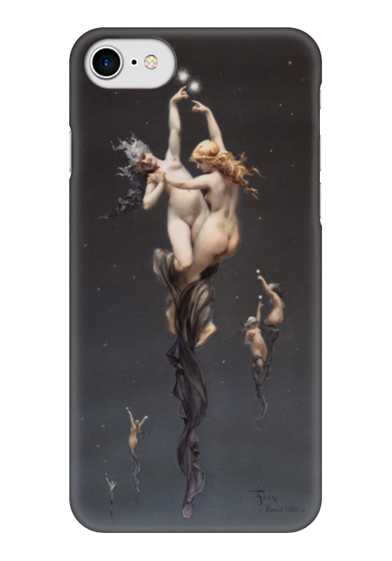 Чехол для iPhone 7 глянцевый Printio Близнецы (луис фалеро) луис комфорт тиффани лучшие произведения