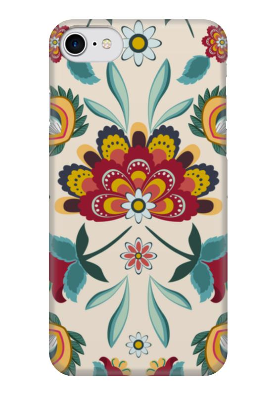 Чехол для iPhone 7 глянцевый Printio Цветочный чехол для iphone 6 глянцевый printio цветочный