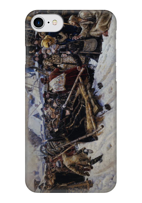 Чехол для iPhone 7 глянцевый Printio Боярыня морозова (василий суриков) евгения морозова портрет из прошлого
