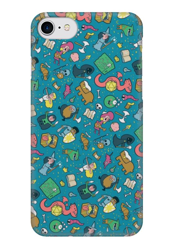 Чехол для iPhone 7 глянцевый Printio Dungeons & patterns чехол для iphone 7 глянцевый printio мечты витторио коркос