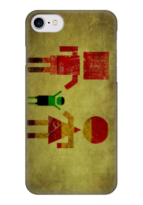 Чехол для iPhone 7 глянцевый Printio Мстители чехол для iphone 7 глянцевый printio альтрон мстители