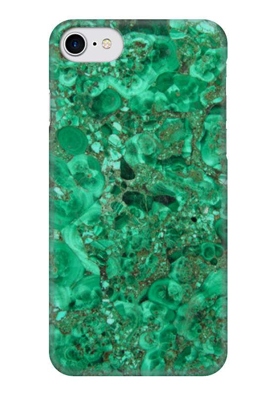 Чехол для iPhone 7 глянцевый Printio Изумруд. чехол для iphone 7 глянцевый printio мечты витторио коркос