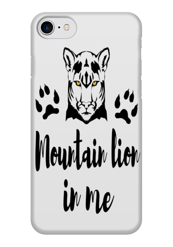 Чехол для iPhone 7 глянцевый Printio Mountain lion in me игрушка remo hobby mountain lion xtreme rh1072