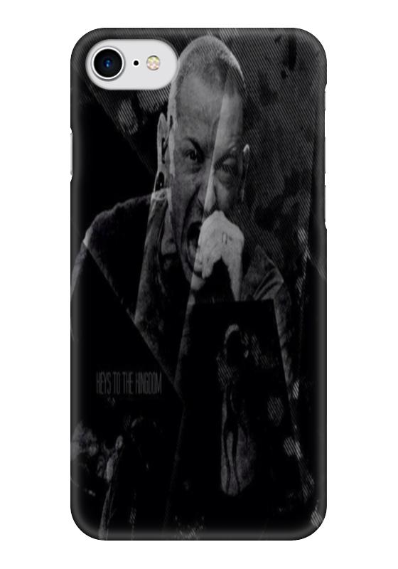 Чехол для iPhone 7 глянцевый Printio Lp,chester benningtonkeys to the kingoom футболка классическая printio the black keys