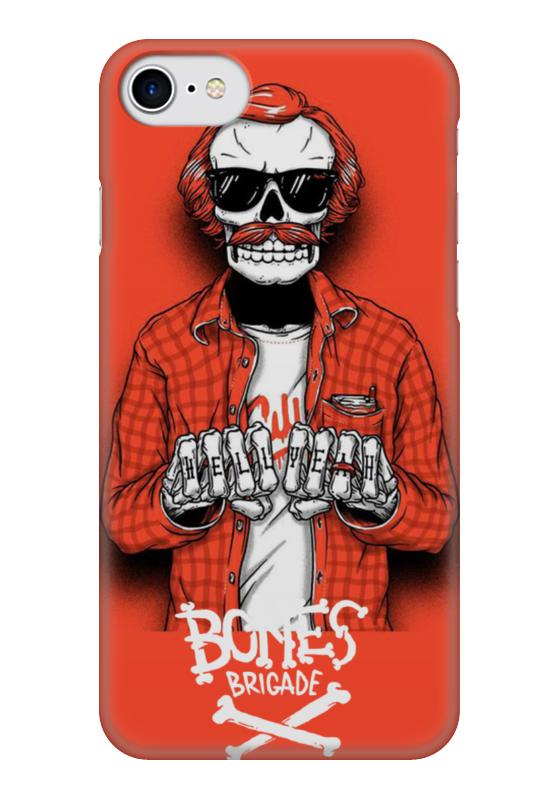 Чехол для iPhone 7 глянцевый Printio Bones brigade футболка с полной запечаткой для мальчиков printio bones brigade