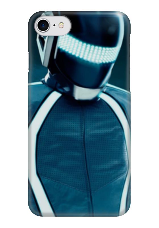 Чехол для iPhone 7 глянцевый Printio Daft punk валентин пикуль николаевские монте кристо