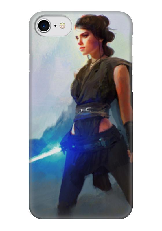 Чехол для iPhone 7 глянцевый Printio Рей (звёздные войны) чехол для iphone 7 глянцевый printio звёздные войны