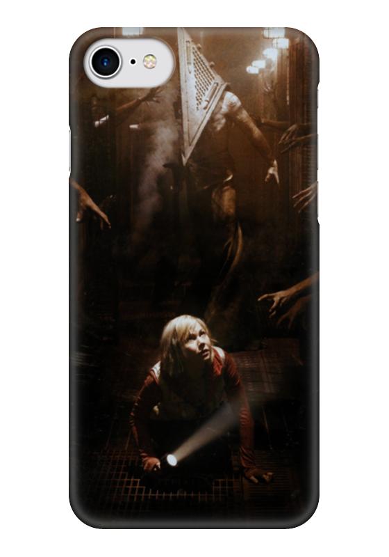 Чехол для iPhone 7 глянцевый Printio Сайлент хилл