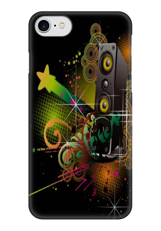Чехол для iPhone 7 глянцевый Printio Hard_bass чехол для iphone 7 глянцевый printio horror art