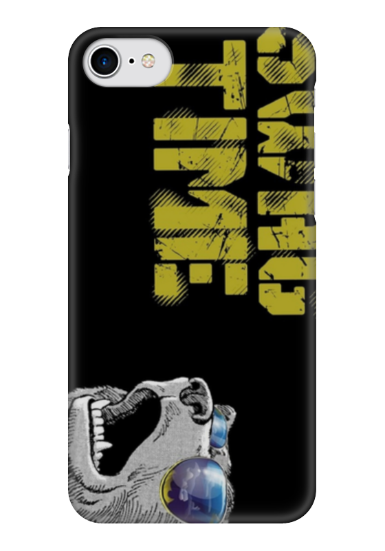 Чехол для iPhone 7 глянцевый Printio Swag time чехол для iphone 7 глянцевый printio time lord doctor who