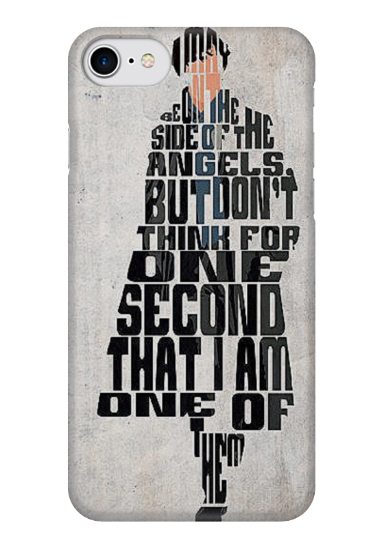 Чехол для iPhone 7 глянцевый Printio Шерлок sherlock чехол для iphone 7 глянцевый printio horror art