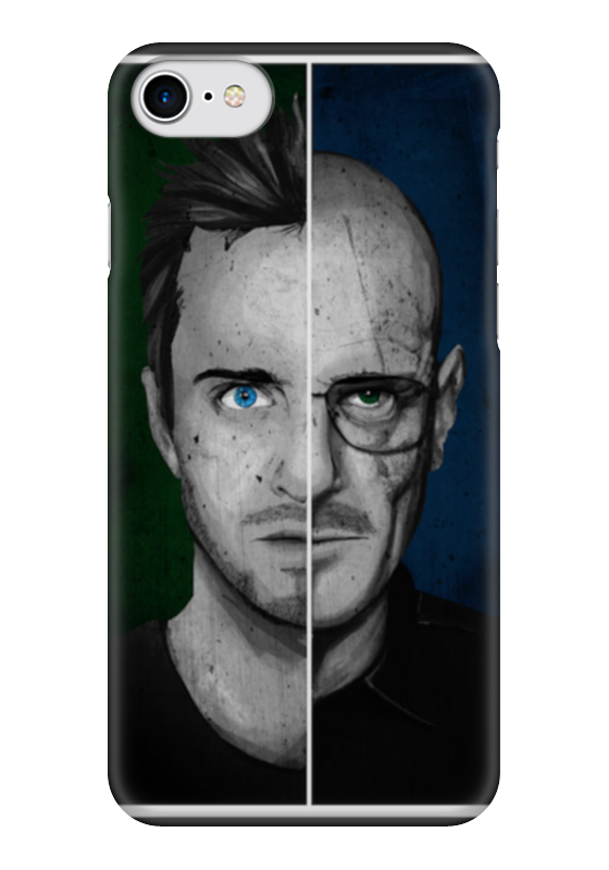 Чехол для iPhone 7 глянцевый Printio Mr.white чехол для iphone 7 глянцевый printio horror art