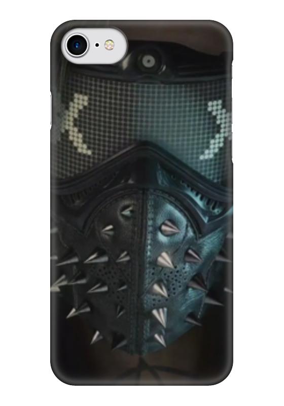 Чехол для iPhone 7 глянцевый Printio Маркус холлоуэй