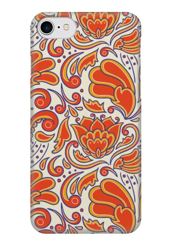 Чехол для iPhone 7 глянцевый Printio Узорный чехол для iphone 6 глянцевый printio узорный
