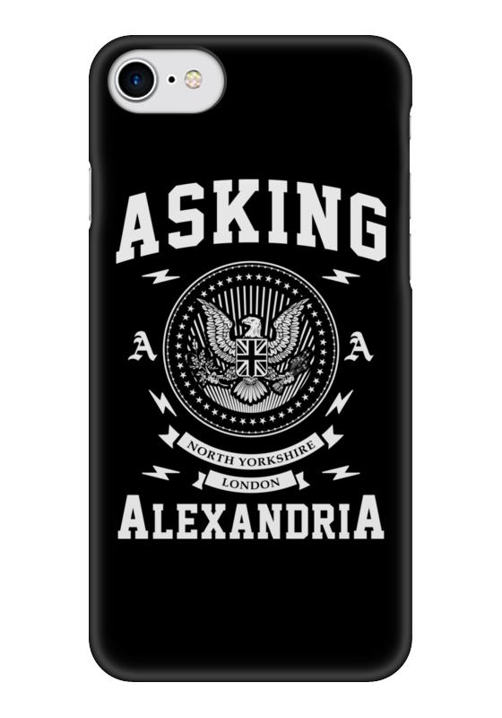 Чехол для iPhone 7 глянцевый Printio Asking alexandria чехол для iphone 7 глянцевый printio альтрон мстители
