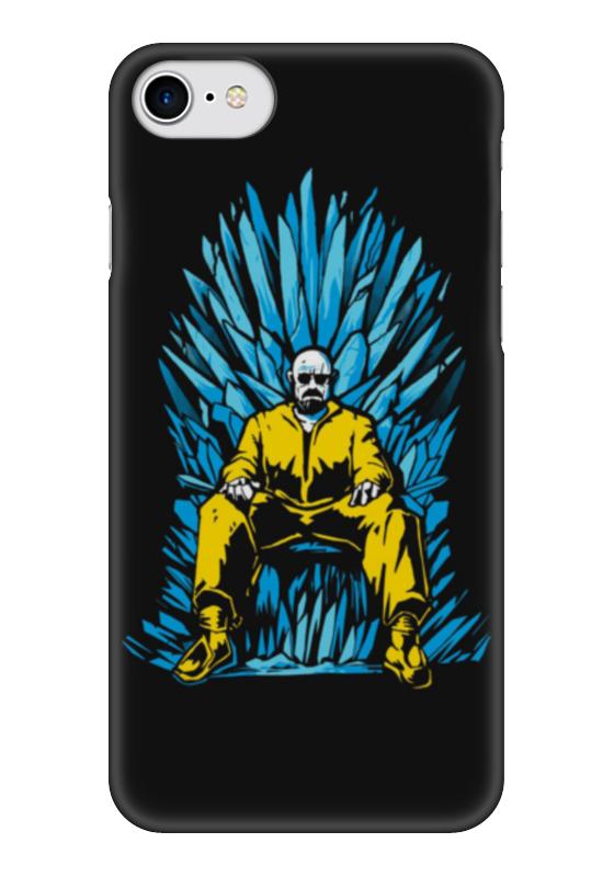 Чехол для iPhone 7 глянцевый Printio Breaking bad x game of thrones, цена и фото