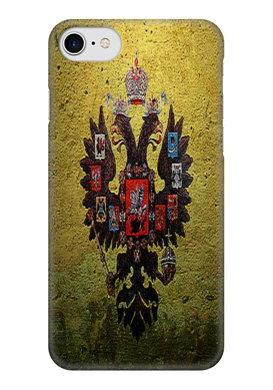 Чехол для iPhone 7 глянцевый Printio Госуда́рственный герб росси́йской федера́ции футболка для беременных printio госуда́рственный герб росси́йской федера́ции