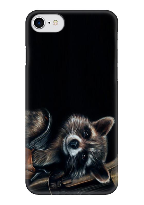 Чехол для iPhone 7 глянцевый Printio Стражи галактики